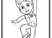 Ryder - Paw Patrol Coloring Pages