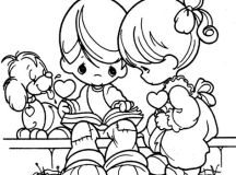 Valentines Day Coloring Pages - Precious Kids