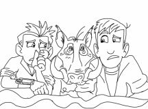 Wild Kratts Coloring Pages Creature