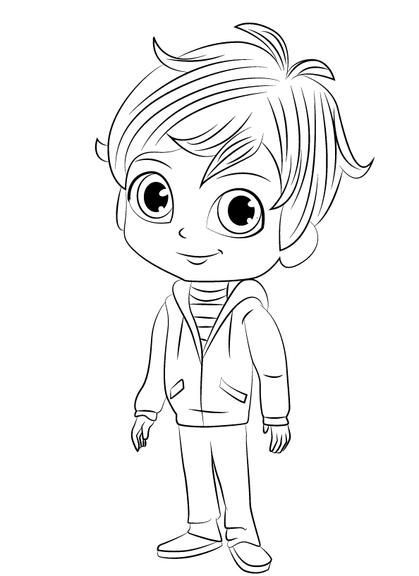 Shimmer And Shine Coloring Pages Best Coloring Pages For