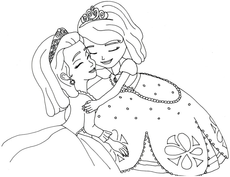 Sofia the First Coloring Pages - Best Coloring Pages For Kids   princess sofia colouring pages to print