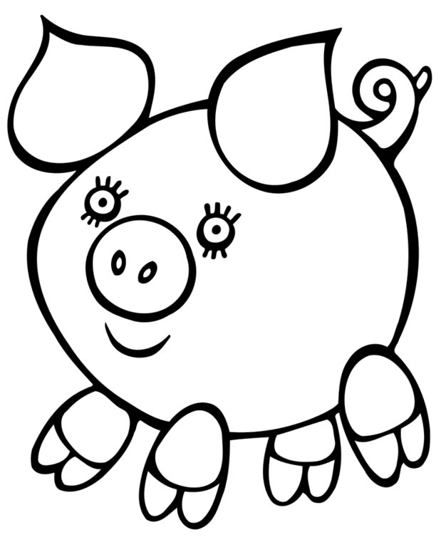 Easy Coloring Pages - Best Coloring Pages For Kids | printable coloring pages easy