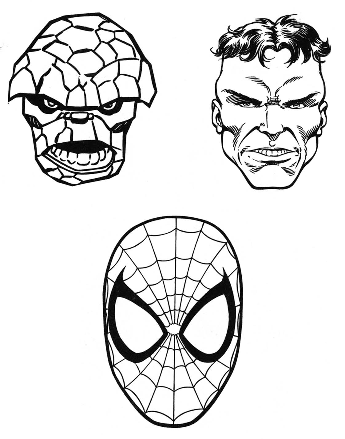Marvel Coloring Pages