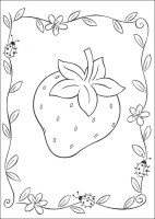Strawberry Coloring Pages   Best Coloring Pages For Kids