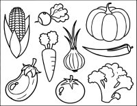 Vegetable Coloring Pages - Best Coloring Pages For Kids