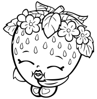 Strawberry Coloring Pages - Best Coloring Pages For Kids