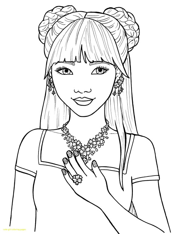 Coloring Pages Girls - Kids