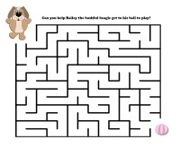 Easy Mazes. Printable Mazes for Kids.