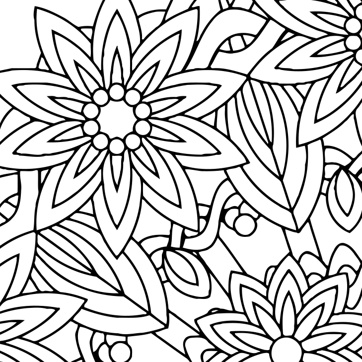 Mindfulness Coloring Pages Printable Sketch Coloring Page