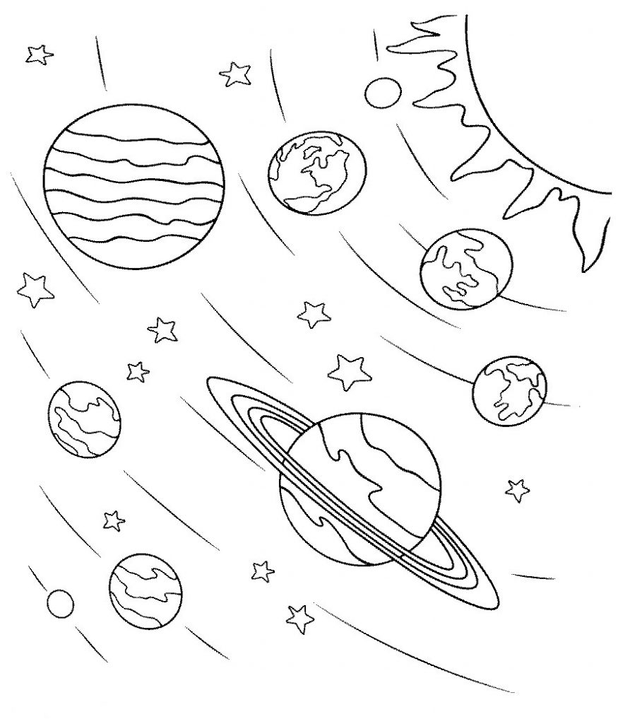 Space Coloring Pages Best Coloring Pages For Kids