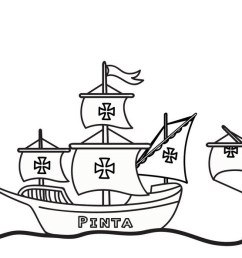 Columbus Day Coloring Pages - Best Coloring Pages For Kids [ 593 x 1600 Pixel ]