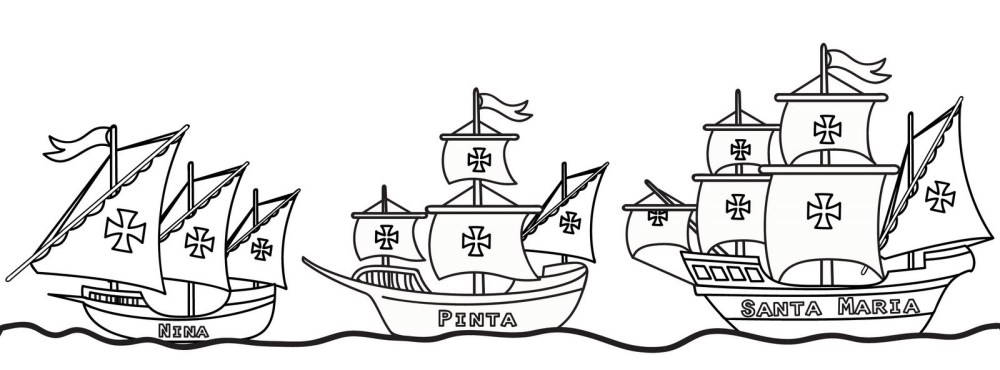 medium resolution of Columbus Day Coloring Pages - Best Coloring Pages For Kids