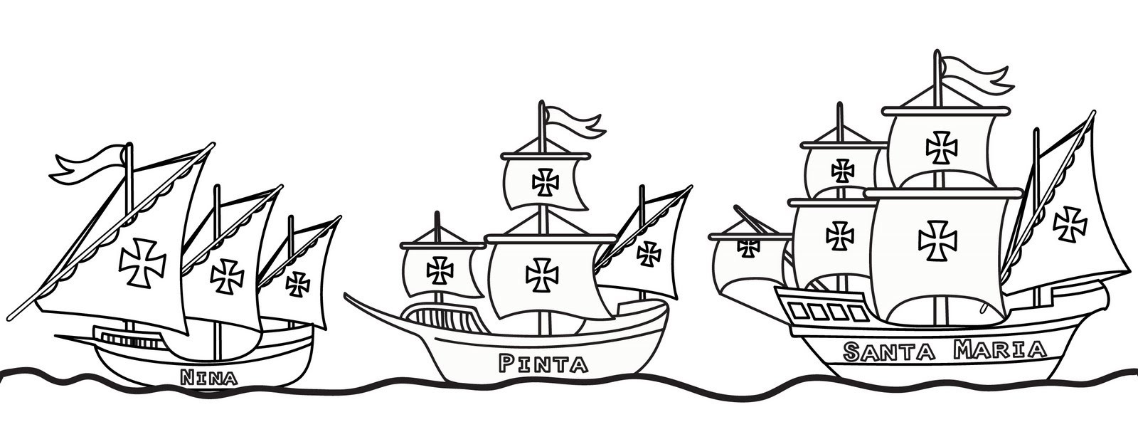 hight resolution of Columbus Day Coloring Pages - Best Coloring Pages For Kids