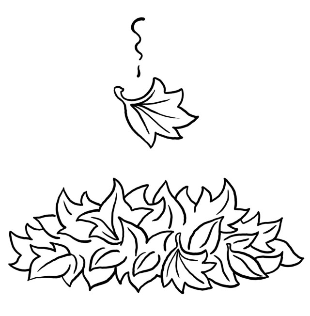 Fall Leaves Coloring Pages - Best Coloring Pages For Kids