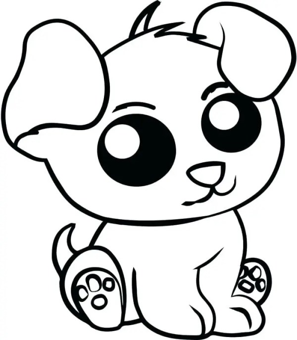 coloring pages cute animals # 3