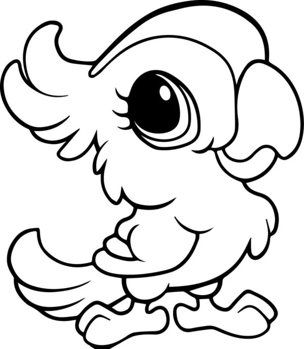 coloring pages cute animals # 4