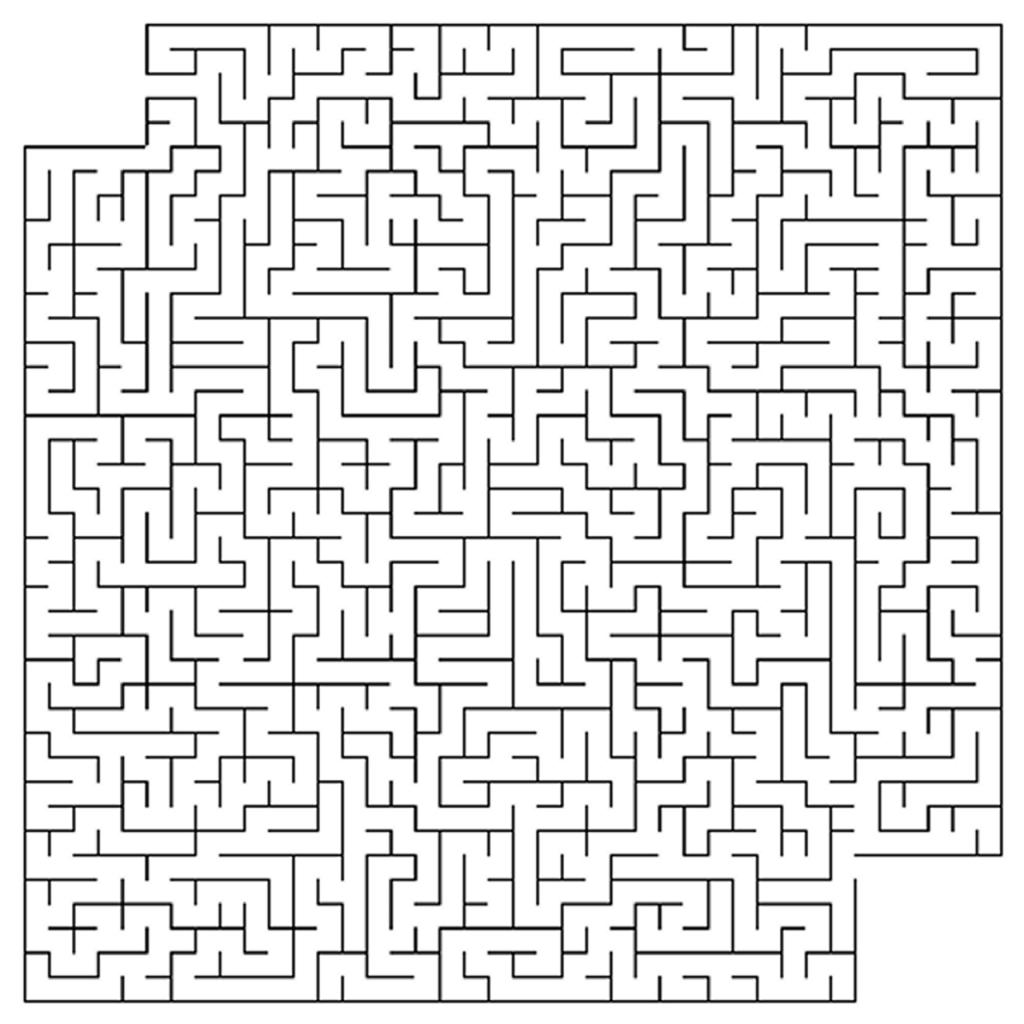 Hard Printable Maze Puzzles