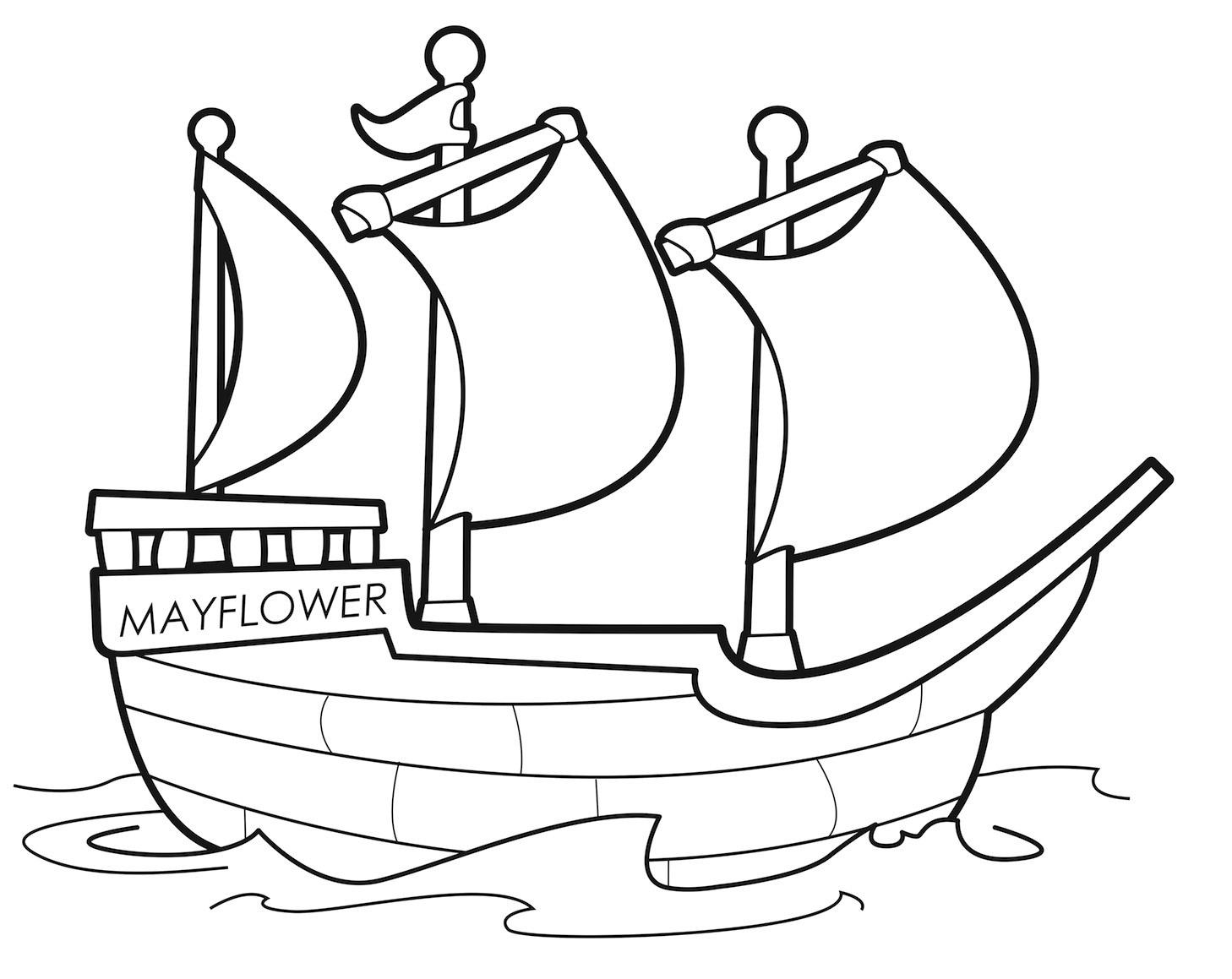 Mayflower Pilgrims Worksheet
