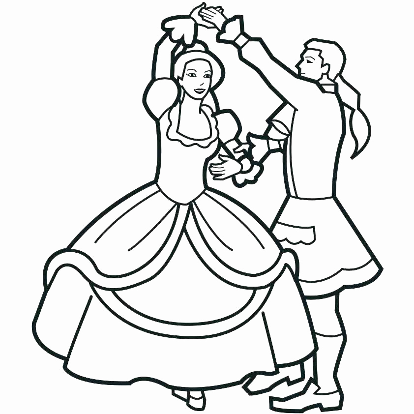 Ballet Class Coloring Pages