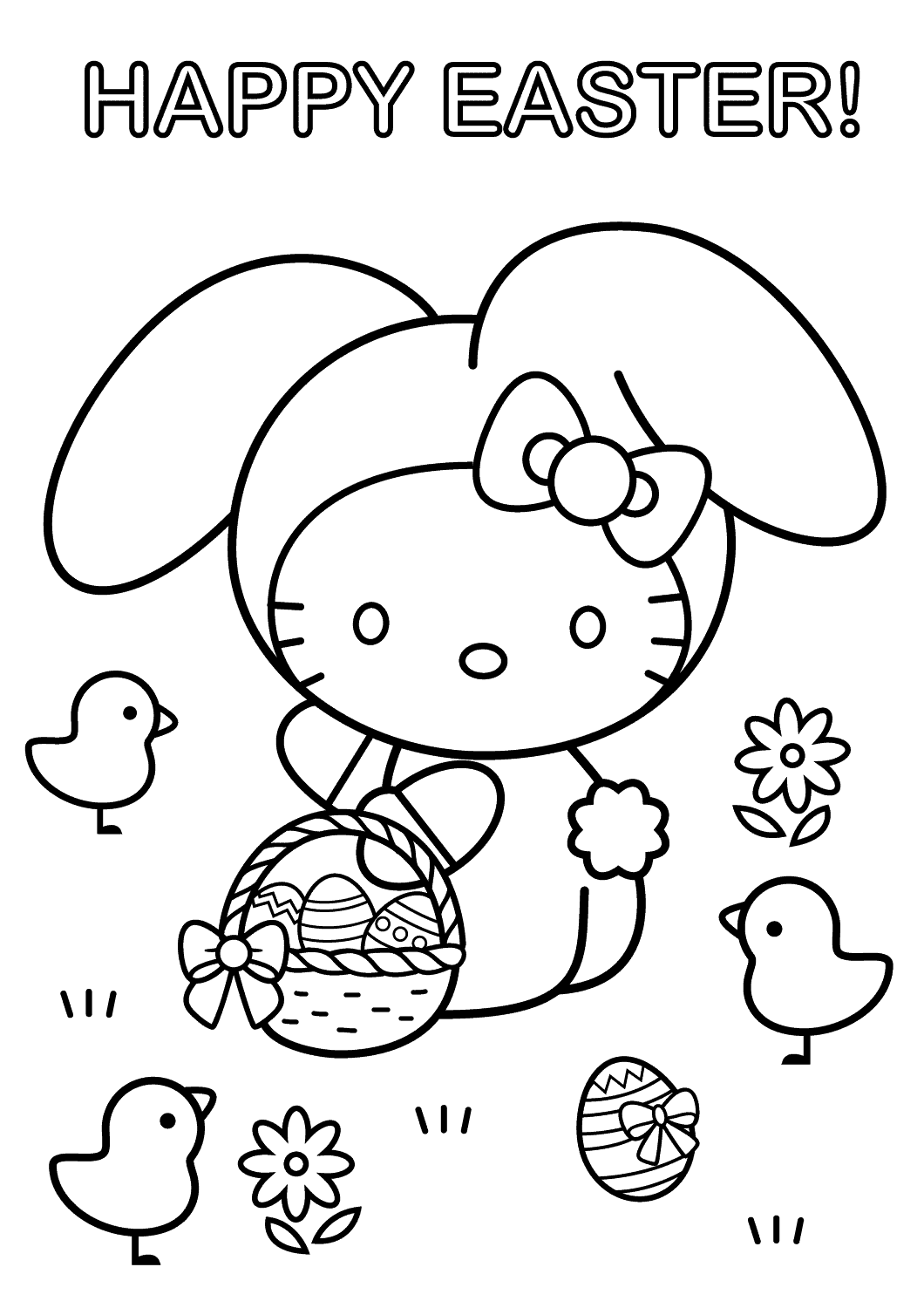 Preschool Easter Coloring Pages Coloring Pages