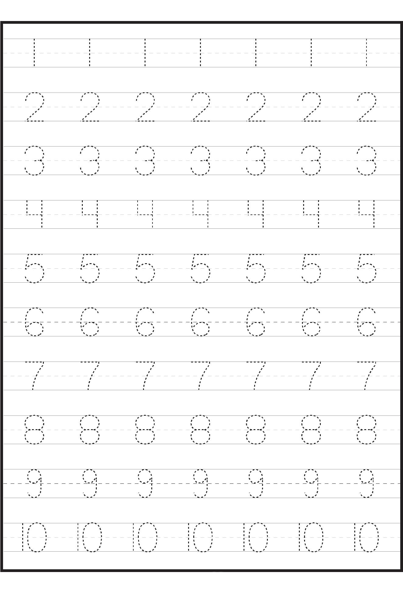 Colornames Tracing Worksheet
