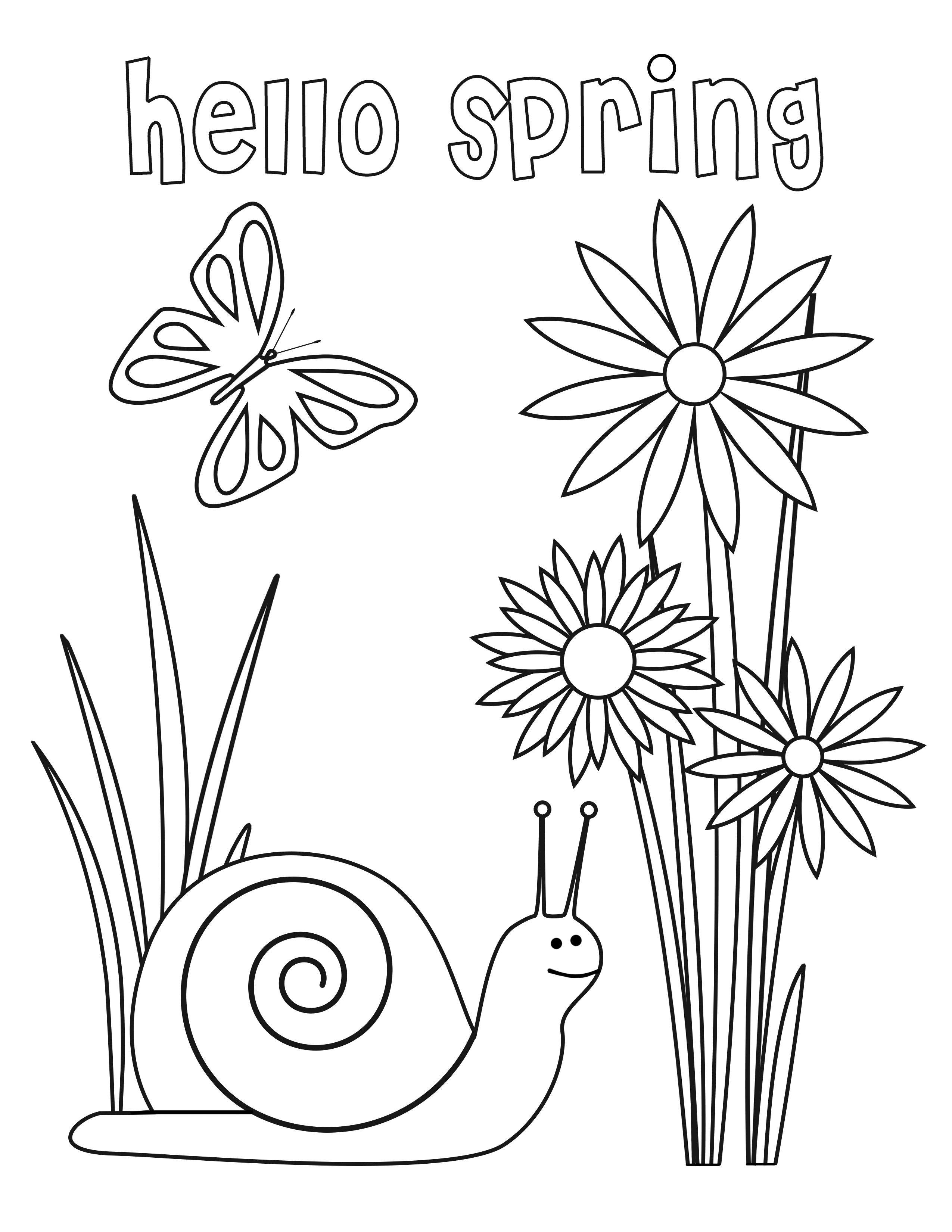 Download Coloring For All Seasons Spring