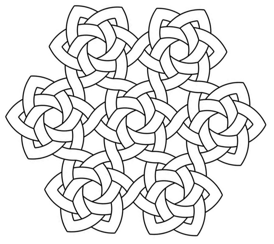 Celtic Coloring Pages Best Coloring Pages For Kids