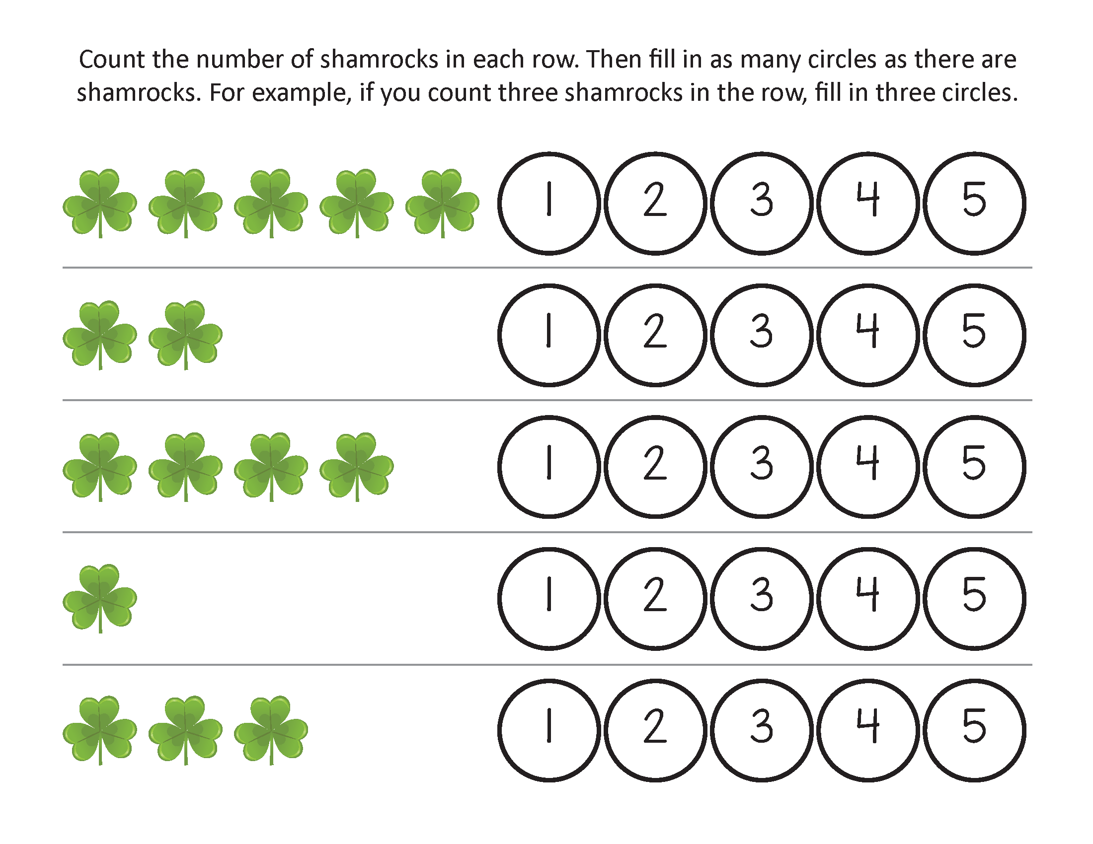 St Patrick S Day Worksheets Free Printable That Are Magic