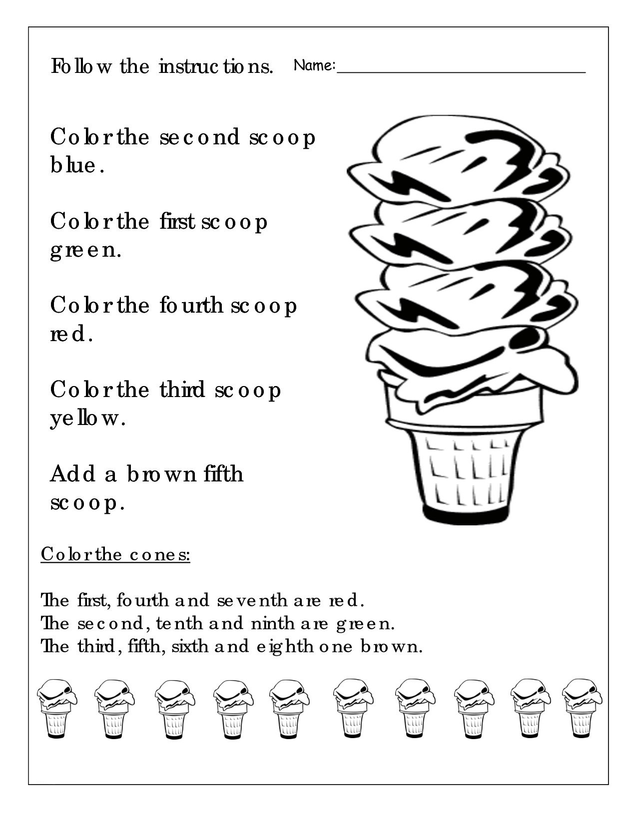 hight resolution of 1st Grade English Worksheets - Best Coloring Pages For Kids