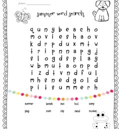 1st Grade Word Search - Best Coloring Pages For Kids [ 1600 x 1236 Pixel ]