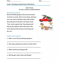 1st Grade Reading Worksheets - Best Coloring Pages For Kids [ 1024 x 791 Pixel ]