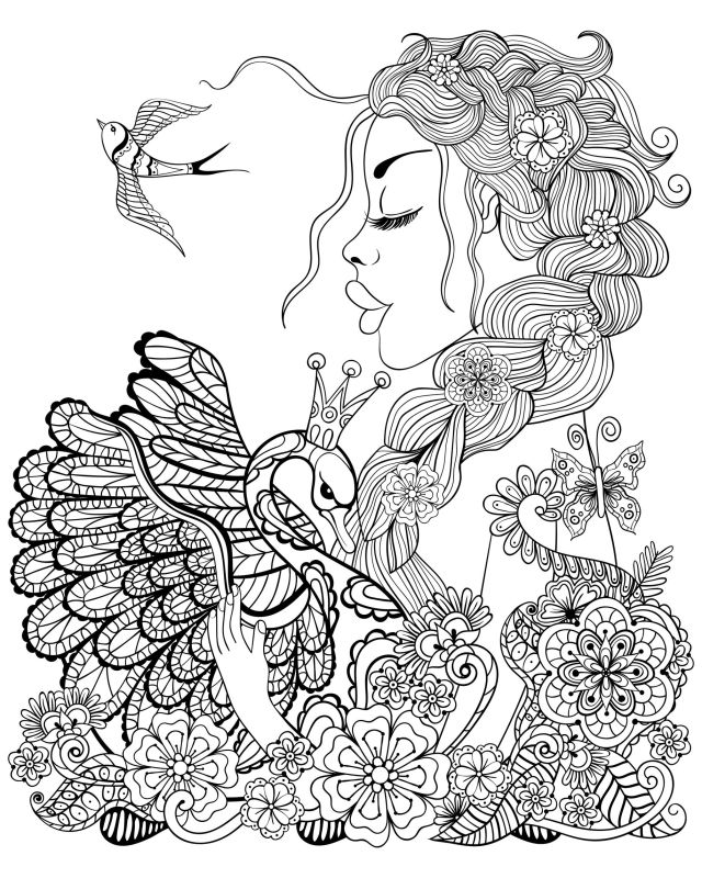 Fairy Coloring Pages for Adults - Best Coloring Pages For Kids