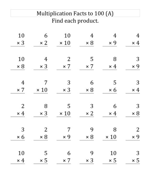 small resolution of 3rd Grade Multiplication Worksheets - Best Coloring Pages For Kids
