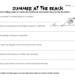 30+ Ideas For Worksheets For All Summer In A Day - Summer Background [ 2550 x 3300 Pixel ]