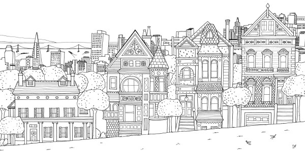 city coloring pages # 11