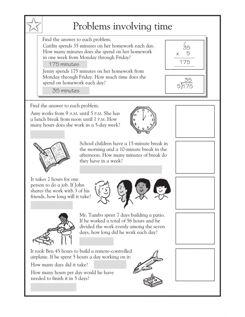 medium resolution of 3rd Grade Math Word Problems - Best Coloring Pages For Kids