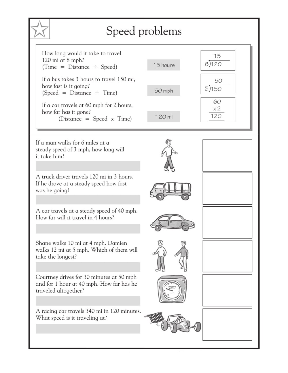 medium resolution of 4th Grade Math Word Problems - Best Coloring Pages For Kids