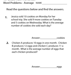 4th Grade Math Word Problems - Best Coloring Pages For Kids [ 1035 x 800 Pixel ]