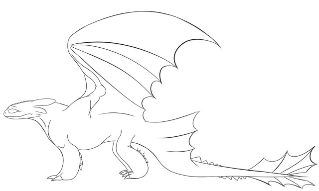 Toothless Coloring Pages - Best Coloring Pages For Kids