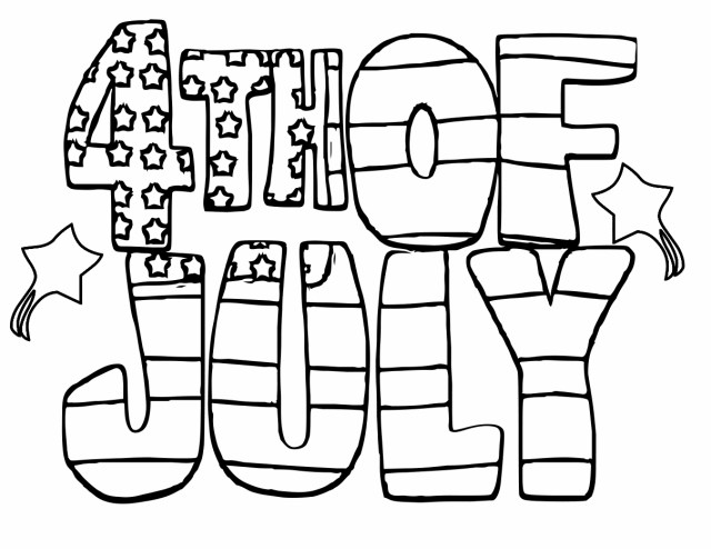 July Coloring Pages - Best Coloring Pages For Kids