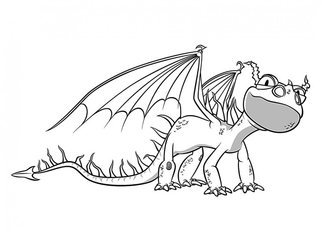 How to Train Your Dragon Coloring Pages - Best Coloring Pages For Kids
