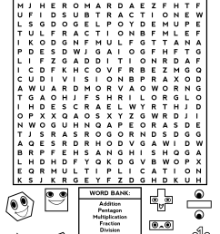 Third Grade Word Search - Best Coloring Pages For Kids [ 3262 x 2367 Pixel ]