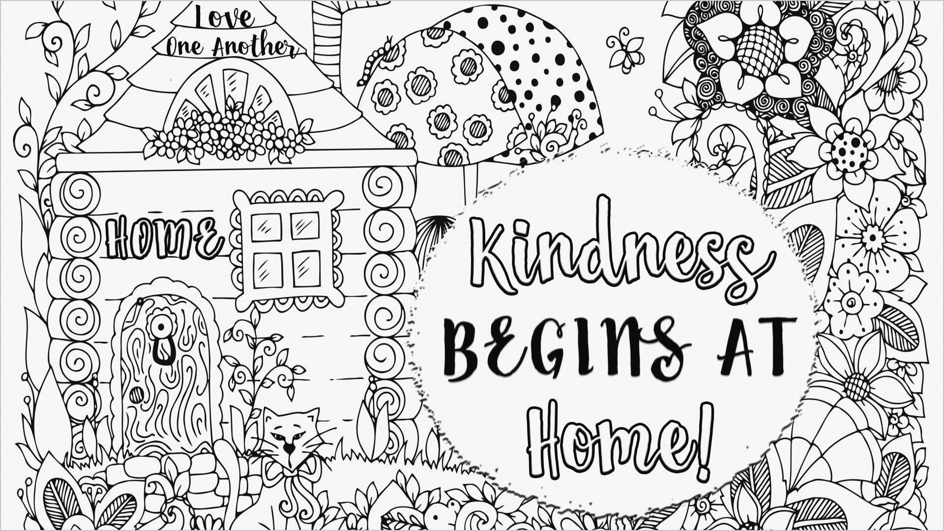 Coloring Pages For Kids Kindness