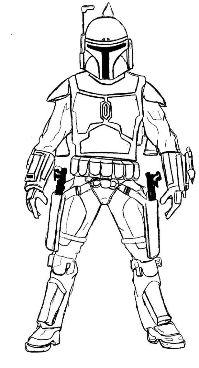 Stormtrooper Coloring Pages - Best Coloring Pages For Kids