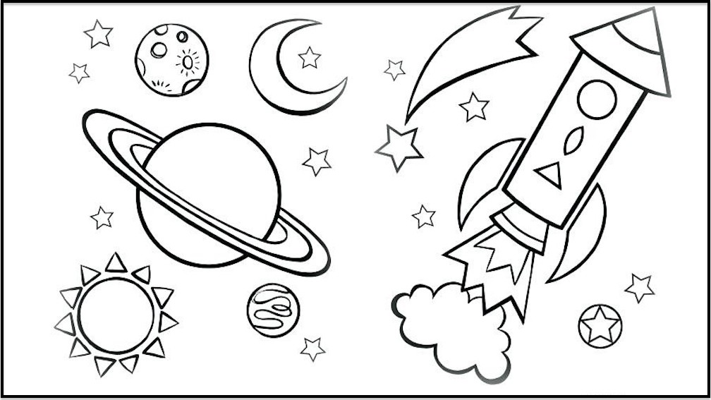 Galaxy Coloring Pages Best Coloring Pages For Kids