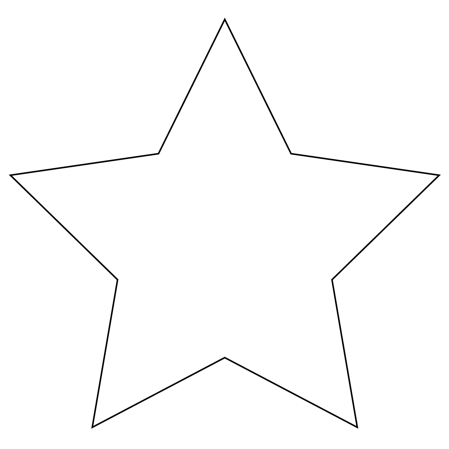Stars Coloring Pages