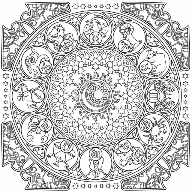 Zodiac Coloring Pages - Best Coloring Pages For Kids