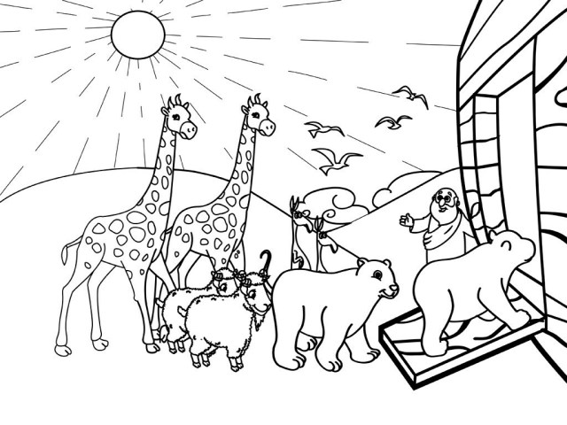 Noahs Ark Coloring Pages - Best Coloring Pages For Kids