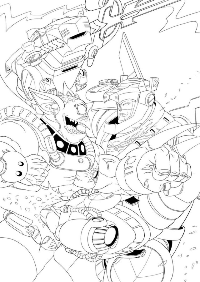Voltron Coloring Pages - Best Coloring Pages For Kids