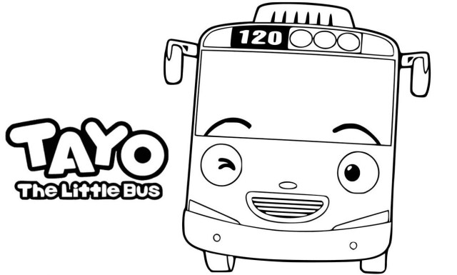 Tayo Coloring Pages - Best Coloring Pages For Kids